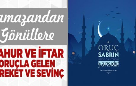 Sahur ve İftar